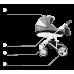 Bebetto Torino wózek głęboko-spacerowy z fotelikiem 0-13kg